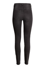Trousers High waist - Nearly black - Ladies | H&M 3