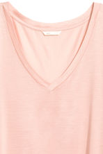 V-neck top - Powder pink - Ladies | H&M CN 3