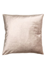 Velvet cushion cover - Light beige - Home All | H&M CN 2