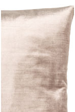 Velvet cushion cover - Light beige - Home All | H&M CN 3