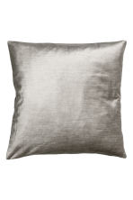 Velvet cushion cover - Light grey - Home All | H&M CN 2
