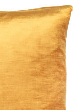 Copricuscino in velluto - Giallo senape - HOME | H&M IT 2