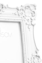 Photo frame - White/Square - Home All | H&M CA 2