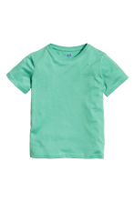 T-shirt in cotone - Verde -  | H&M IT 2