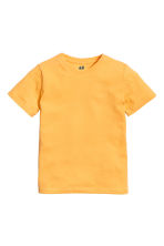 T-shirt in cotone - Giallo -  | H&M IT 2