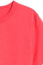 Cotton T-shirt - Light red -  | H&M 3