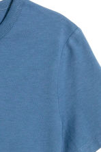 Cotton T-shirt - Blue -  | H&M 3