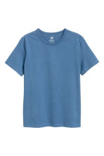 Cotton T-shirt - Blue -  | H&M 2