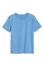 Cotton T-shirt - Light blue -  | H&M CN 2