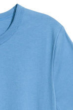 Cotton T-shirt - Light blue -  | H&M CN 3