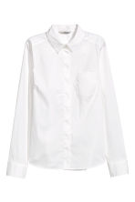 Stretch shirt - White - Ladies | H&M GB 2