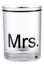 Plastique transparent/Mrs