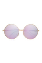 Sunglasses - Gold/Mirror lens - Ladies | H&M 2