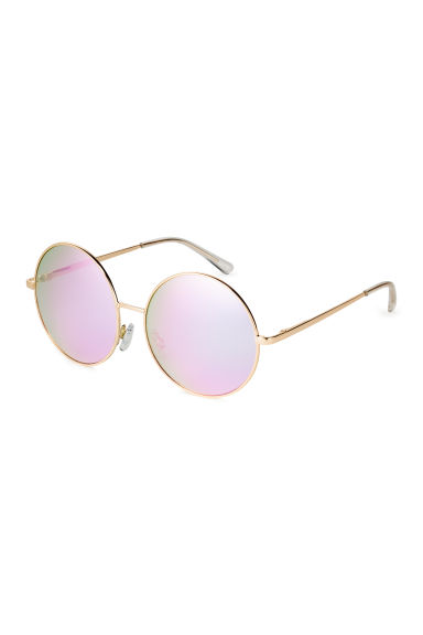 Sunglasses - Gold/Mirror lens - Ladies | H&M 1