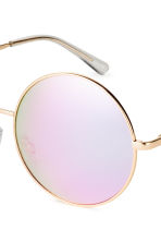 Sunglasses - Gold/Mirror lens - Ladies | H&M 3