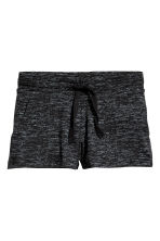 Jersey shorts - Black marl - Kids | H&M 2