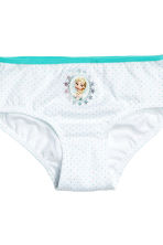 7-pack cotton briefs - White/Frozen - Kids | H&M 3