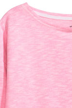 Sweat - Rose fluo chiné -  | H&M FR 3
