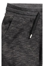 Sweatpants - Black marl -  | H&M 4