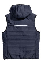 Padded bodywarmer - Dark blue - Men | H&M 3