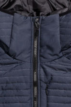 Padded bodywarmer - Dark blue - Men | H&M 4