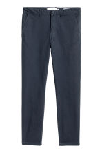 Chinos Skinny fit - Dark blue - Men | H&M CN 2