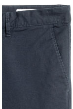 Chinos Skinny fit - Dark blue - Men | H&M CN 4