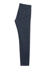 Chinos Skinny fit - Dark blue - Men | H&M CN 3