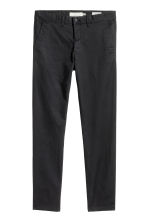 Chinos Skinny fit - Nero -  | H&M IT 2
