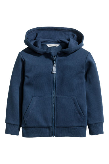 Hooded jacket - Dark blue -  | H&M CN 1