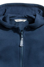 Hooded jacket - Dark blue -  | H&M CN 2