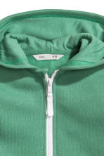Hooded jacket - Green -  | H&M CN 3