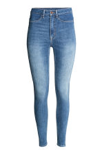Super Skinny High Jeans - 浅牛仔蓝 - 女士 | H&M CN 2