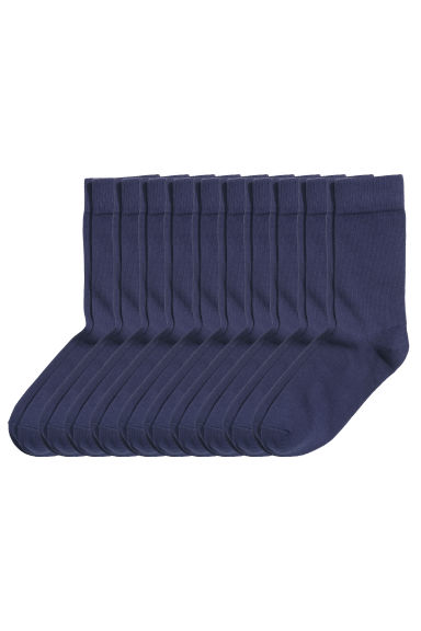 10-pack socks - Dark blue - Men | H&M 1