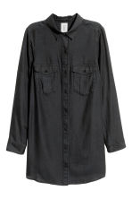 Long shirt - Black - Ladies | H&M CN 3