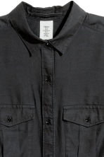 Camicia lunga - Nero - DONNA | H&M IT 3