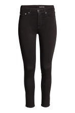 Shaping Skinny Ankle Jeans - Black/No fade black - Ladies | H&M 2