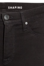 Shaping Skinny Ankle Jeans - Black/No fade black - Ladies | H&M 4