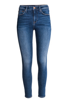 Shaping Skinny Ankle Jeans