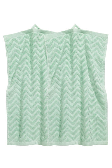 2-pack guest towels - Mint green - Home All | H&M CN 1