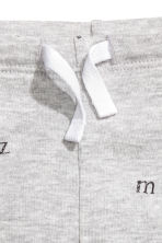 Jersey trousers - Grey/Letter - Kids | H&M 2