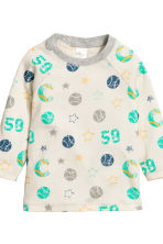 2-pack pyjamas - Natural white/Green - Kids | H&M CN 4