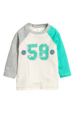 2-pack pyjamas - Natural white/Green - Kids | H&M CN 2