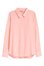 Long-sleeved blouse - Light pink - Ladies | H&M 2