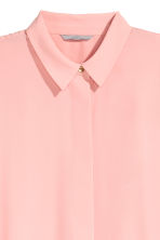 Long-sleeved blouse - Light pink - Ladies | H&M 3