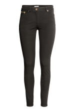 Pantaloni superstretch - Nero - DONNA | H&M IT 4