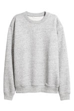 Sweatshirt - Light grey marl - Ladies | H&M GB 2