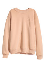 Sweatshirt - Light beige - Ladies | H&M 2