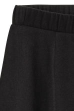 Jersey skirt - Black -  | H&M CN 3