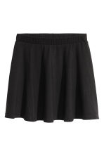 Jersey skirt - Black -  | H&M CN 2